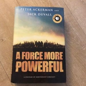 A Force More Powerful hardback book
